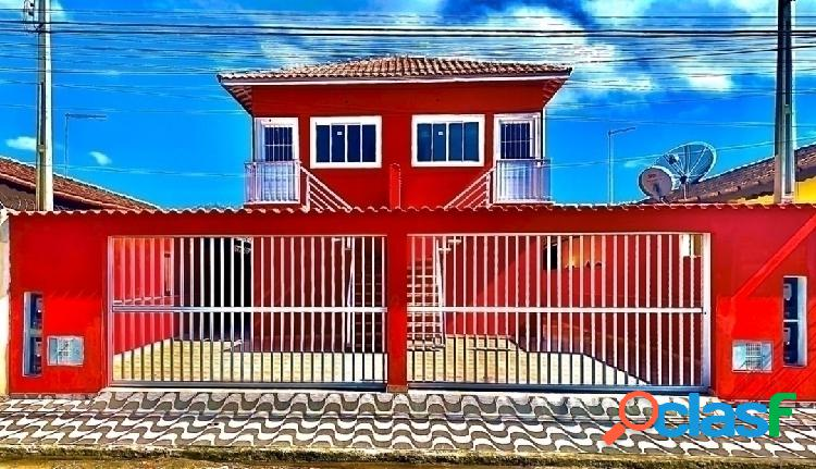 Casa novas - 2 dormitórios - no centro do suarão