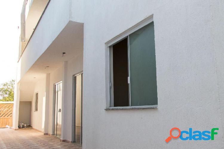 Casa nova sobreposta - 2 dorms - bairro residencial