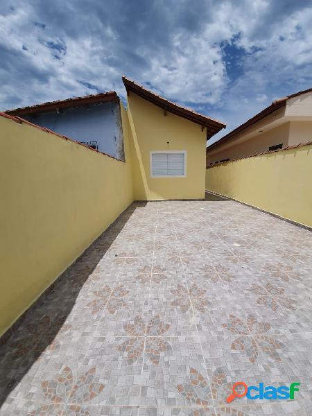 Casa nova de 2 dorms - terreno amplo 5x31 - florida mirim