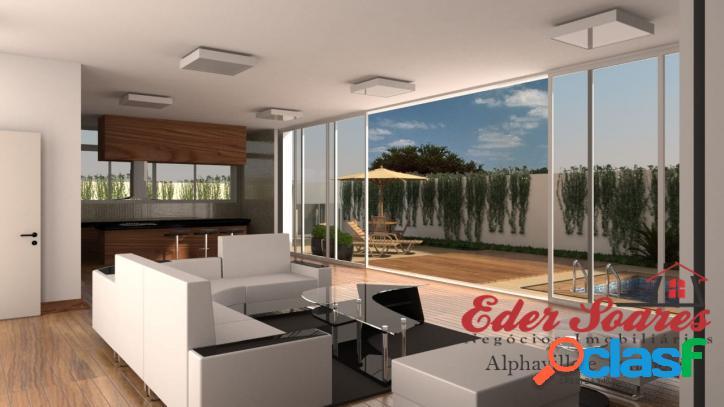 Casa em obra com 5 dormitórios - gênesis 2 (alphaville)