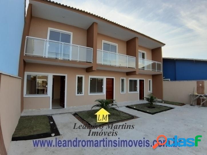 Lindas casas DUPLEX com 2 quartos em itaipuaçu !!