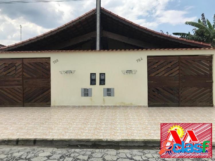 Casa nova 2dormitórios 1suite em mongaguá na mendes casas de praia