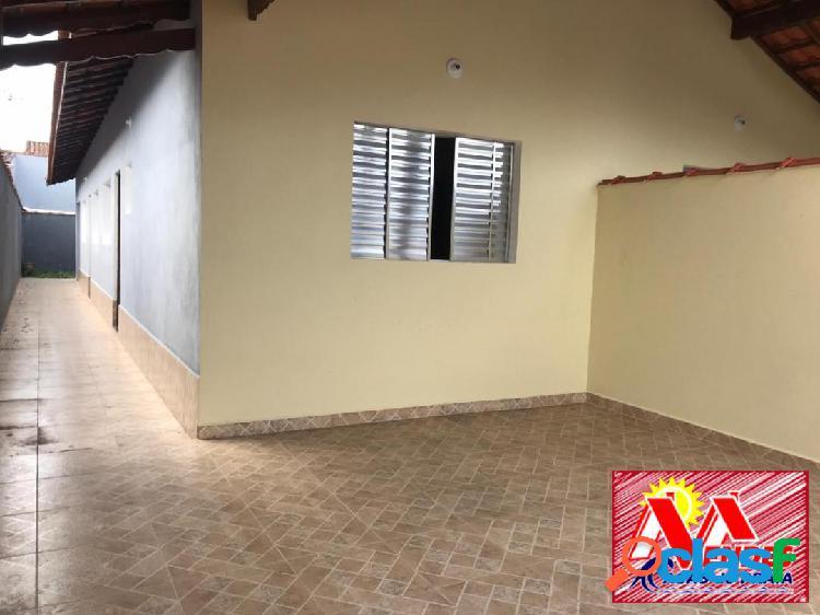 Casa Nova 2dormitórios 1suite em Mongaguá na Mendes Casas de Praia 1