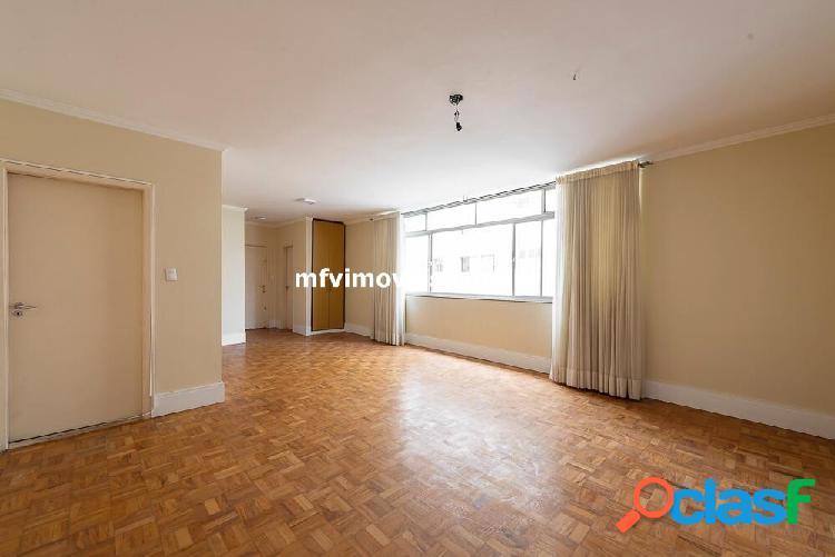 Apartamento amplo 3 quartos à venda na rua haddock lobo - cerqueira césar