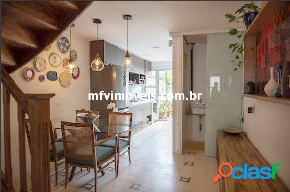 Linda casa de vila com 3 quartos à venda em pinheiros