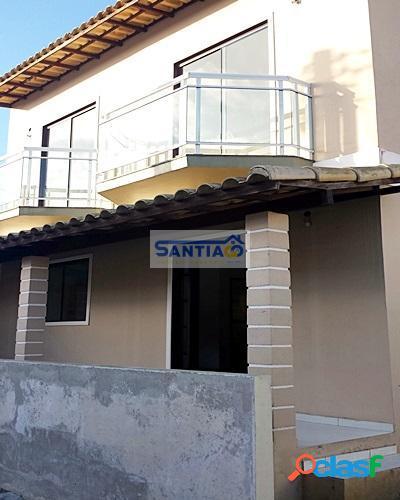 Casa duplex, 2 quartos, nova, São Pedro da Aldeia RJ. 1