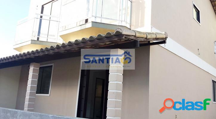 Casa duplex, 2 quartos, nova, São Pedro da Aldeia RJ. 2