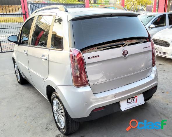 Fiat idea attractive 1.4 fire flex 8v 5p prata 2012 1.4 flex