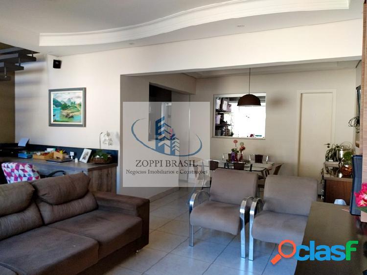 CA909 - Casa à venda em Americana, Jardim Ipiranga com 170m², 3 dormitórios 3