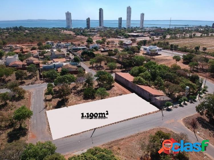 Oferta - terreno com 1.190m² na quadra 309 sul