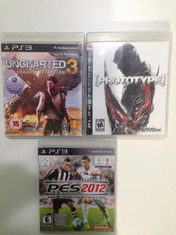 3 jogos originais playstation 3