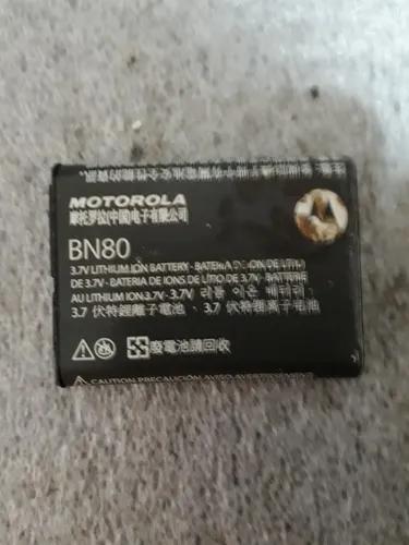 Bateria motorola bn80 1380mah mb300 backflip i886 nextel