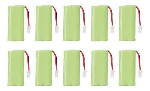 Kit 10 bateria recarregavel ts 3110 ts 3111 ts3130 intelbras