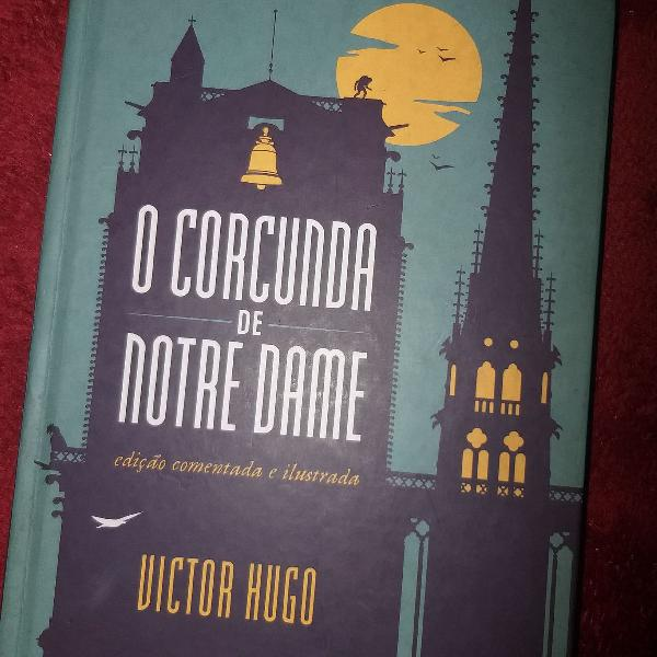 Livro 'O Corcunda de Notre Dame'