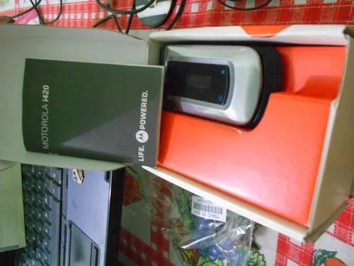 Motorola i420 na caixa