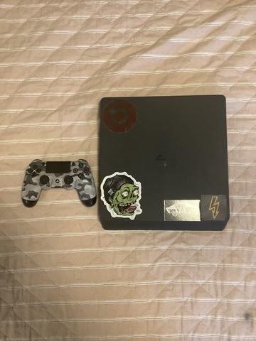 PS4 SLIM perfeito estado