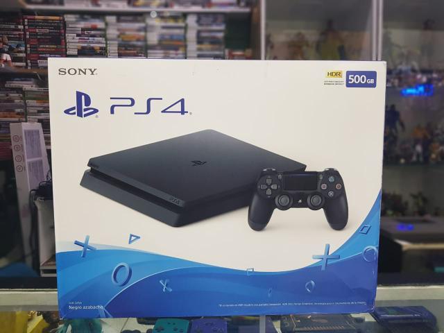 Playstation 4 slim 500gb lacrado loja física (carlão