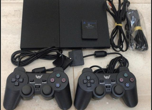 Ps2+2controles+ memory card