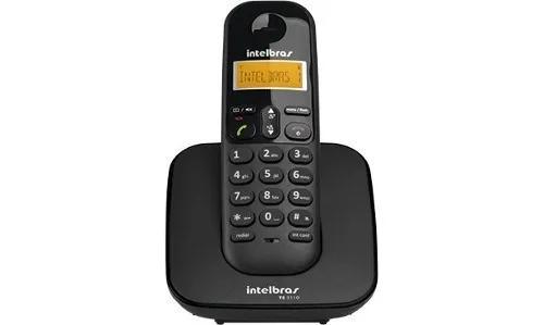 Telef intelbras s/fio preto ts3110 c/ide