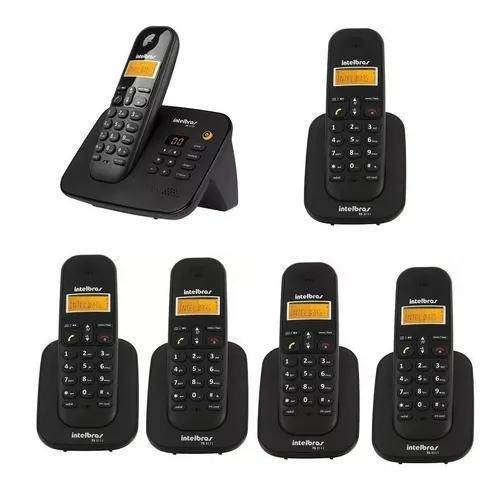 Telefone 3130 secretária eletronica com 5 ramais intelbras