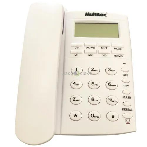 Telefone c/ fio viva voz office id multitoc