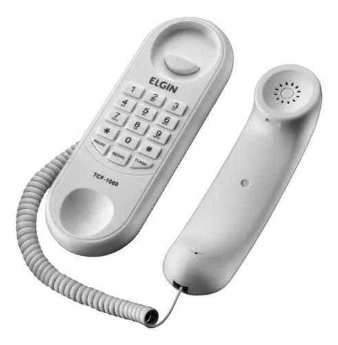 Telefone com fio elgin tcf1000 gondola