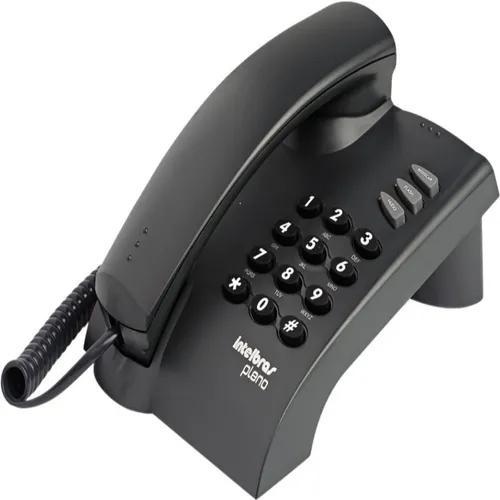 Telefone com fio pleno c/chave - intelbras