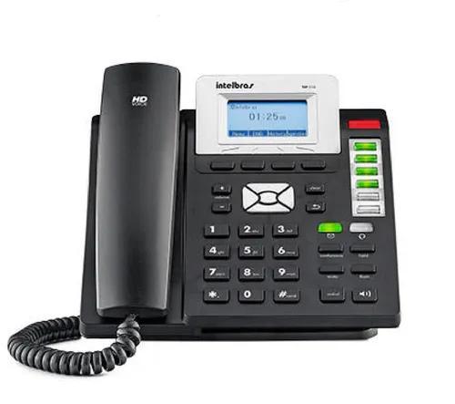 Telefone digital c/fio ip tip 210 - intelbras