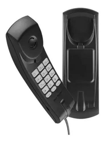 Telefone gôndola intelbras tc 20 slim mesa parede com fio