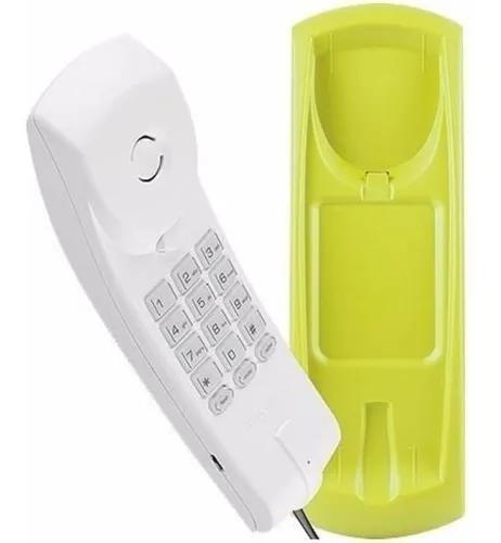 Telefone intelbras tc 20 gondola mesa e parede c/ fio
