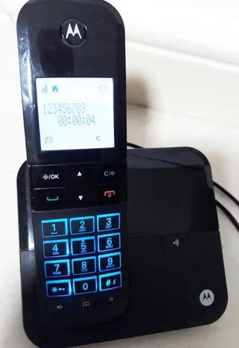 Telefone motorola moto6000 s/fio digital id.cham+viva nota10
