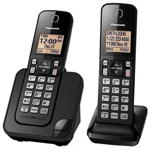 Telefone panasonic kx-tgc352 viva voz,id.chamadas, dect 6.0