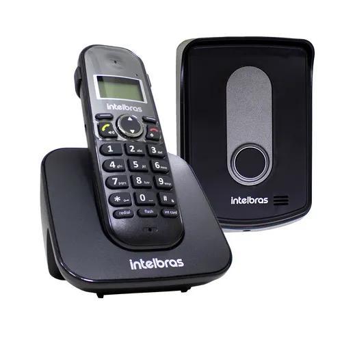 Telefone s/ fio c/ ramal externo tis5010 intelbras +nf st727