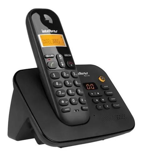 Telefone s/fio intelbras ts 3130 secretária eletrônica