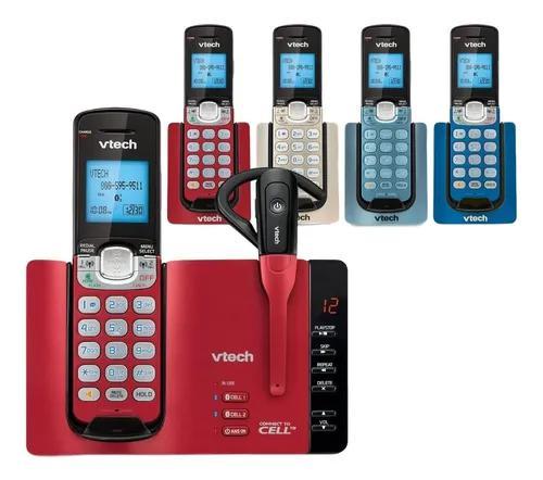 Telefone vtech 5 bases coloridas