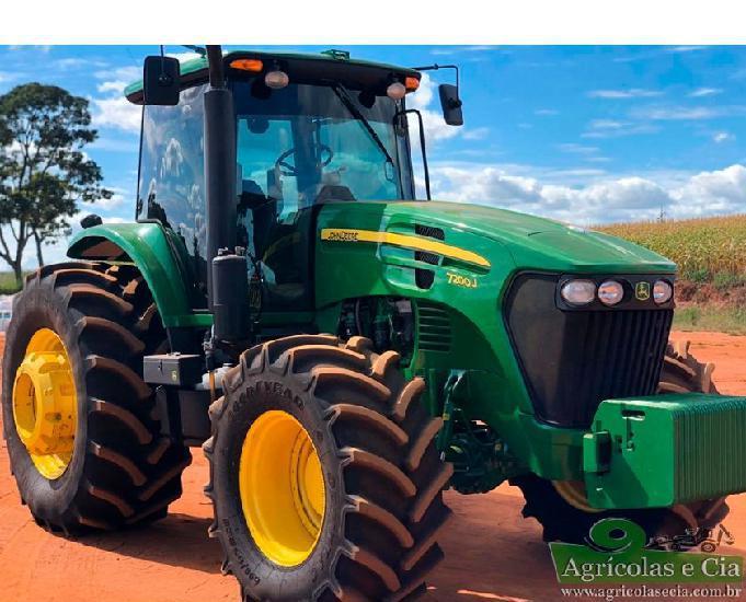 Trator john deere 7200 j (com suspensão dianteira - 1.000
