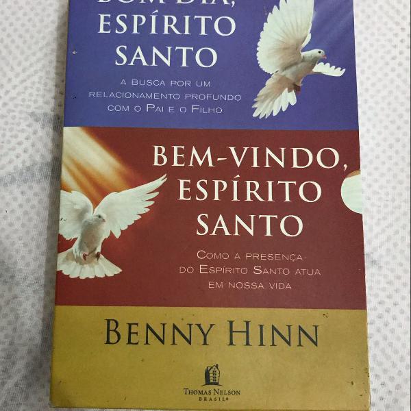 Box livro espírito santo