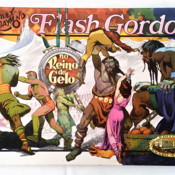 Flash gordon - no reino do gelo - formatão - alex raymond
