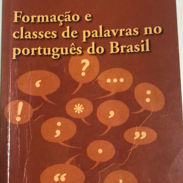 Formação e classe de palavras no português do brasil