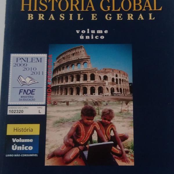 História global. brasil e geral. volume único. cotrim