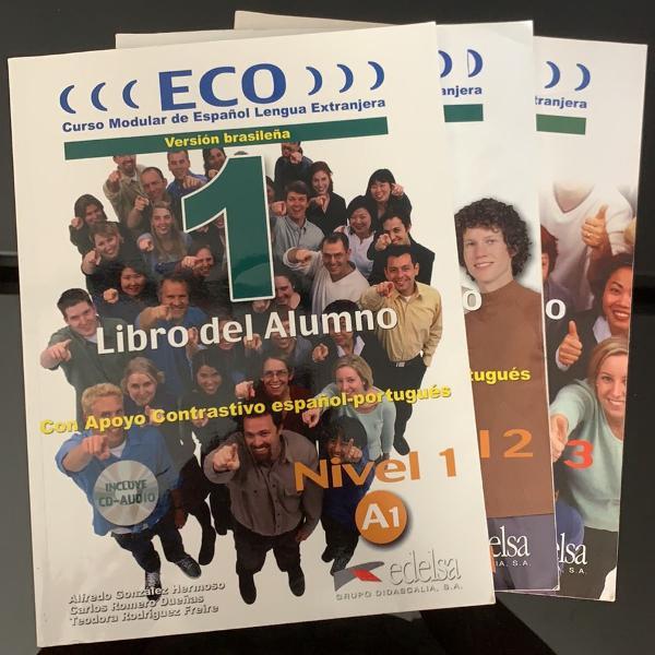 Kit livros eco espanhol