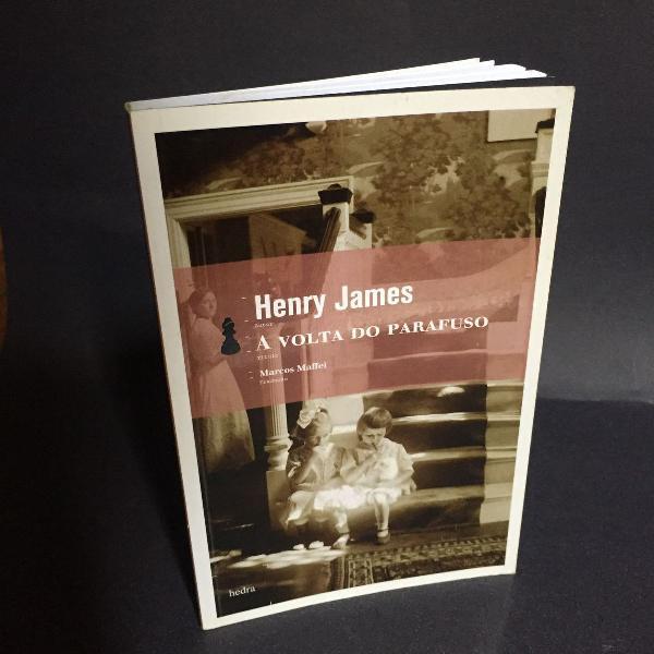 Livro ' a volta do parafuso' de henry james