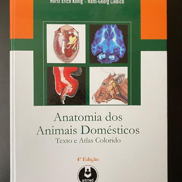 Livro anatomia dos animais domésticos 4 edição
