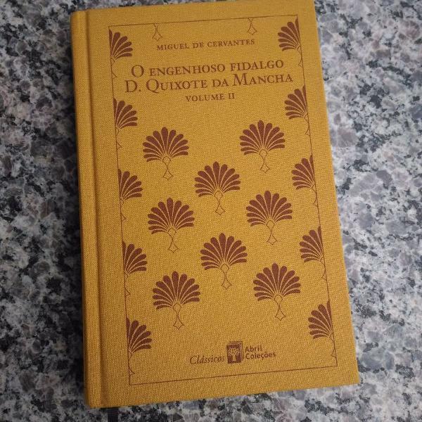 Livro dom quixote vol 2
