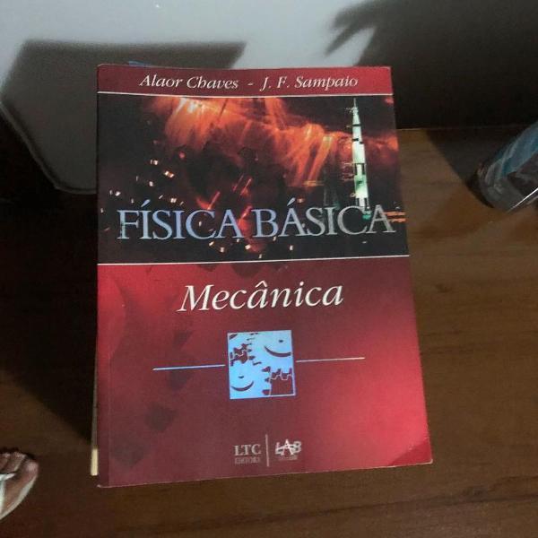 Livro física básica mecânica