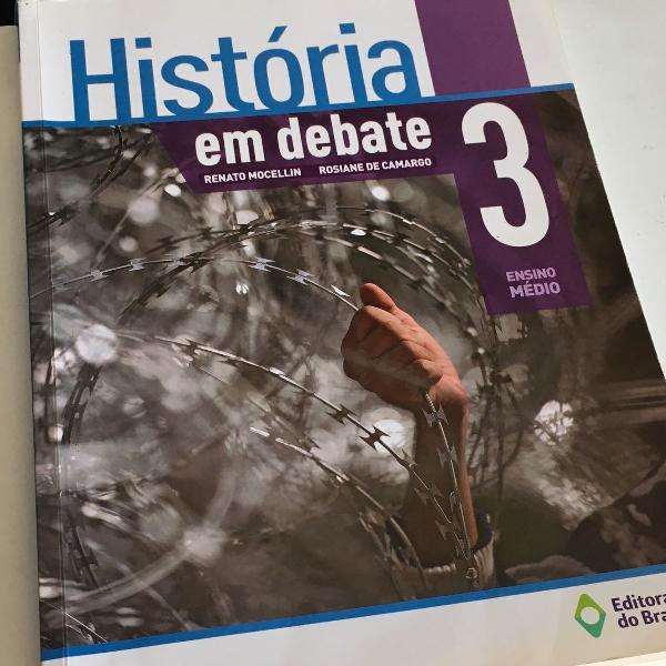 Livro história em debate 3 ensino médio