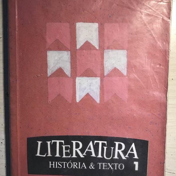 Livro: literatura história & texto 1