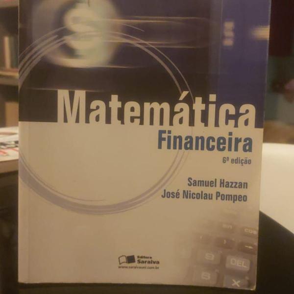Matemática financeira - 6º edição