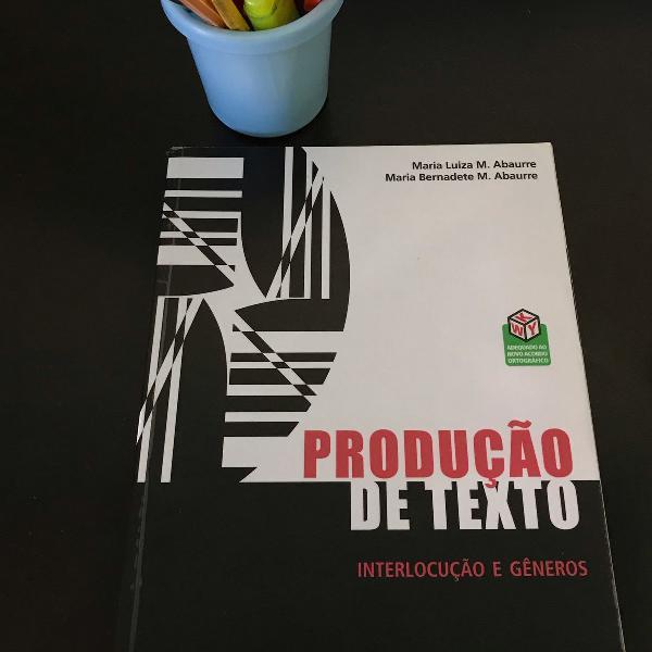 Vestibular- produção de texto; interlocução e gêneros