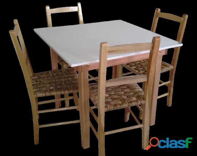 Jogo de mesas e cadeiras p/ restaurantes